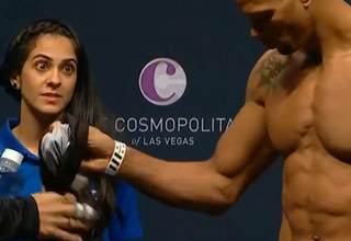 UFC Weigh In Girl Wants the D