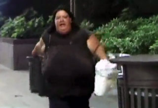 Teens Get Chased By A Large Angry Woman