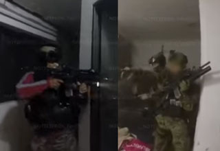 Actual Raid Footage Of El Chapo's Capture!