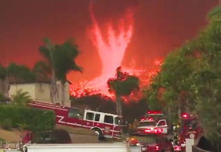Raging Fire Tornado