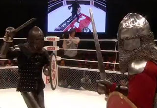 Watch These Idiots Pretend to be Medieval Knights