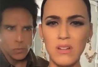 Katy Perry On The Set Of Zoolander 2
