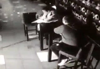 Instant Karma For Woman Throwing Up At A Bar