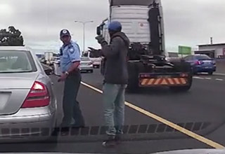 Traffic Cop Gets Shot, Proceeds to Finish Writing Ticket