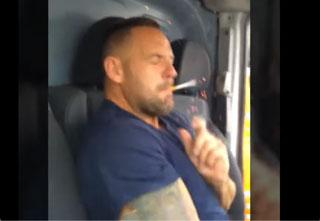 Guy Puts Explosive in Friend's Cigarette