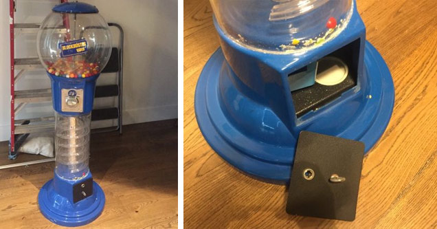 Man Buys A Blockbuster Gumball Machine And Finds Something Amazing