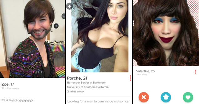 34 Intriguing People on Tinder