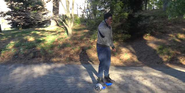 This Hoover Board Bait Prank Will Warm Your Heart