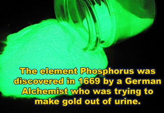 phosphorus was invented on accident