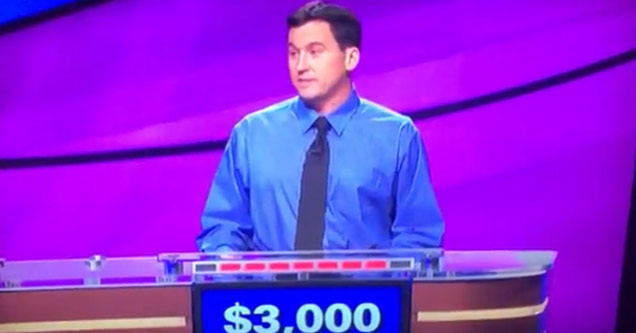 Jeopardy contestant with $3000