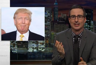John Oliver Explains Very Clearly Why You Shouldn't Vote For Trump