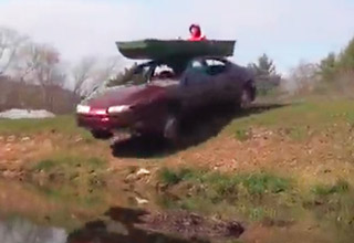 The Most Badass Boat Launch Ever Attempted