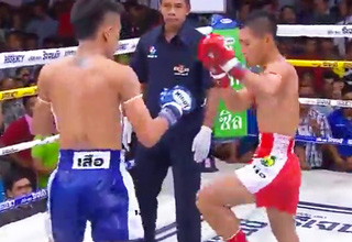 This Savage Muay Thai Fighter Is Relentless