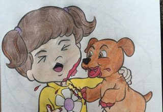 25 Coloring Book Images Made Horrifyingly Funny