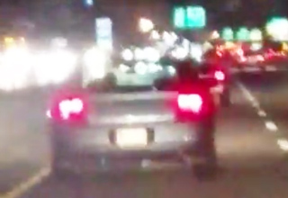 Cop Caught Doing Something X-Rated On The Road