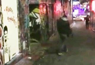 Has Banksy finally been caught on camera?