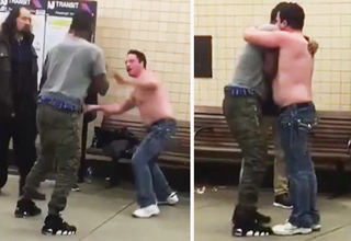 Guy Underestimates His Opponent Then Becomes His Best Friend
