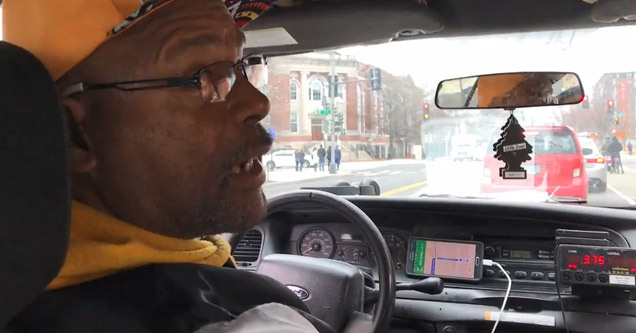 Poker player cab driver