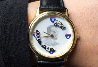 OJ Simpson Bronco Chase Wrist Watch