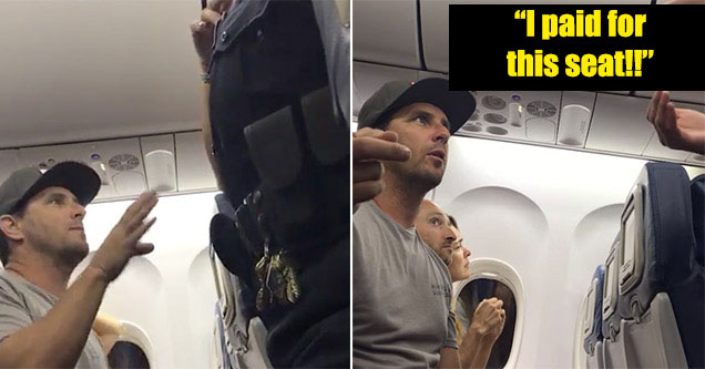 Man Gets Kicked Off Delta For Car Seat