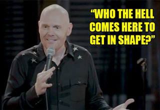 bill burr doesn't understand why mcdonalds sells healthy food
