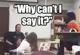 Heated Conversation Between Teacher & Black Student Over 'The N Word'