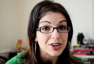 Photo of Anita Sarkeesian from hated people online
