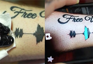 Now you can hear your tattoos!