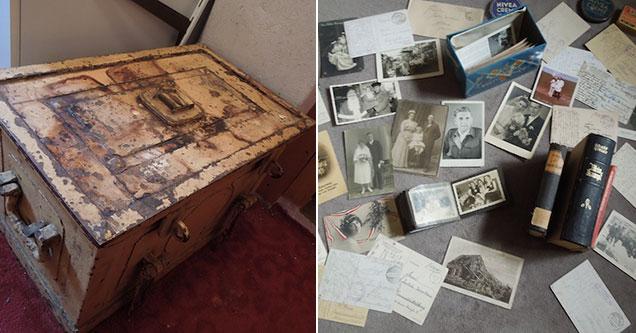 German woman inherits strange time capsule