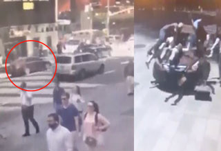 video from the horrible attack in nyc's times square
