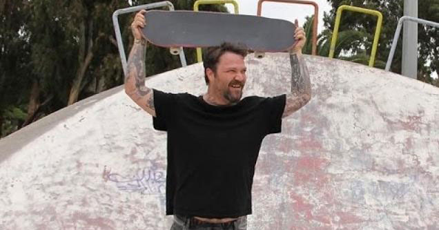 Bam Margera is back and shredding once again!