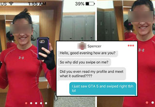 tinder chick loses after her match didn't read her bio