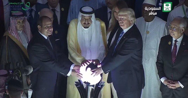 caption contest of donald trump touching an orb