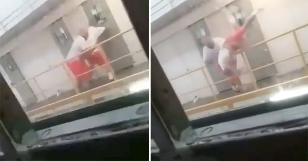 gnarly prison fight ends badly