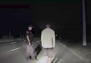 tiger woods arrested for a dui caught on dashcam
