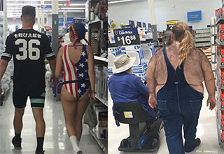 only at walmart folks