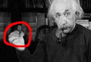 einstein spinning the fidget