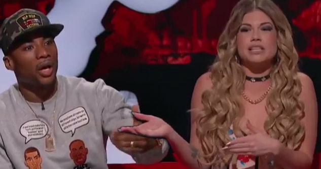 Charlamagne and Chanel West Coast Arguing on MTV