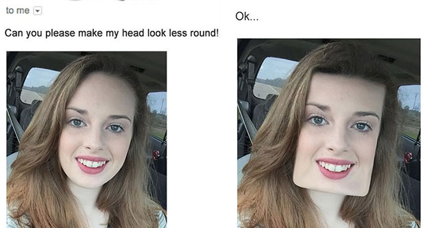 photoshop artist trolls people looking for photo editing help