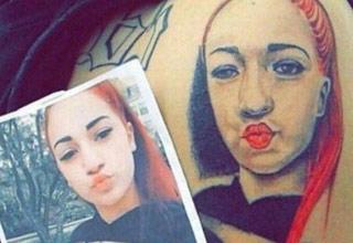danielle bregoli tatoo