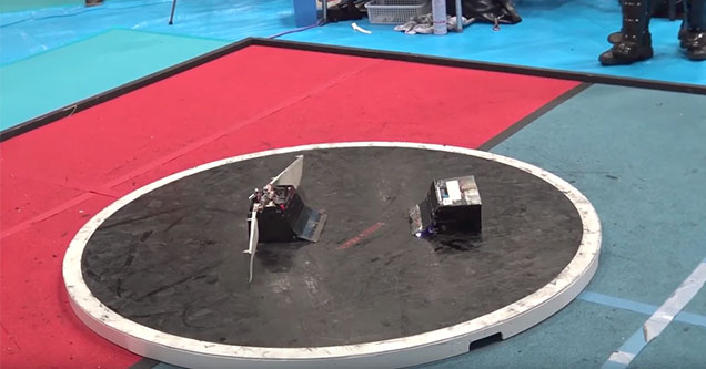 robo sumo bot wrestling