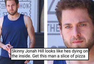 funny memes to kick start your day Jonah Hill Skinny and Sad