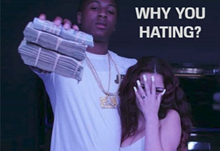 cash me outside's new rap song, why you hating, take a listen