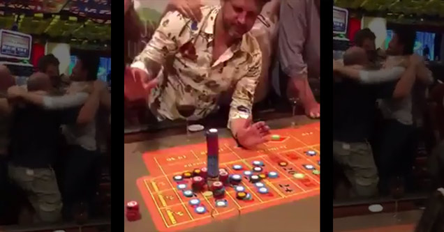 man with 100K in chips win three million in roulette