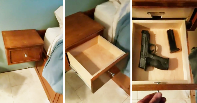 secret gun drawer