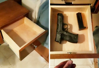 secret gun drawer