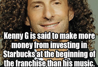 kenny g made more off starbucks than his music