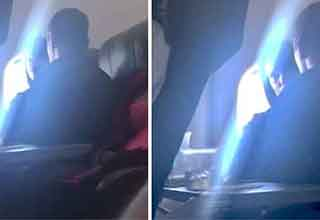 couple caught doing sexual things on a plane