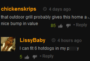 funny comment left on popular porn site pornhub