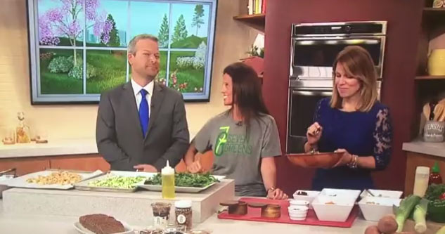 Horny Guest Says She Wants To Toss His Salad, On Live TV